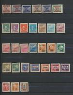Chine  Lot De Divers Types  MNG  30 Timbres - 1912-1949 Republic