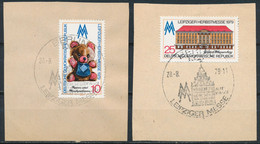 RDA-Foire D'automne 1979 De Leipzig YT 2116-2117 Obl./ DDR- Leipziger Herbstmesse Mi.Nr. 2452-2543 Gest. - Gebraucht