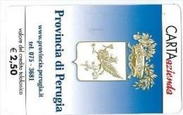 CARTA AZIENDA II TIPO DT NUOVA 45 PROV PERUGIA R - Private-Omaggi