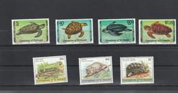 Saint Vincent & Grenadines - Yvert Série 146 à 149 + 159 à 161  ** - Tortues Iguane Animaux - St.Vincent & Grenadines