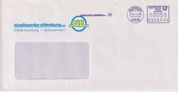 Absenderfreistempel - Eilenburg, Stadtwerke, 2008 - Briefe U. Dokumente