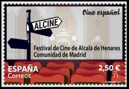 ESPAGNE SPANIEN SPAIN ESPAÑA 2021 ALCALÁ DE HENARES (C. MADRID) FILM FESTIVAL (ALCINE) MNH ED 5534 MI 5575 YT 5274 - 2011-... Nuovi & Linguelle