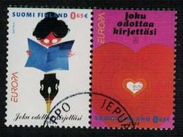 2003 Finland, Europa Cept Pair Fine Used. - Gebraucht