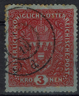AUSTRIA  1917/19 WAPPEN MI No 209I USED VF!! - Used Stamps