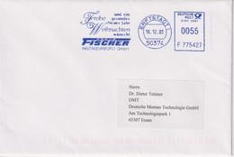 Absenderfreistempel - Erftstadt, Fischer Ingenierbüro GmbH, 2003 - Briefe U. Dokumente
