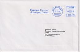 Absenderfreistempel - Erlangen, Thermo Electron GmbH, 2008 - Briefe U. Dokumente