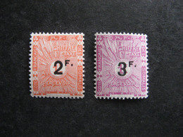 Cote Des Somalis: TB Paire Timbres-Taxe N° 9 Et  PA N° 10, Neufs X. - Unused Stamps