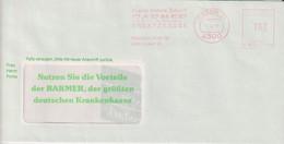 Absenderfreistempel - Essen, Barmer Ersatzkasse, 1991 - Briefe U. Dokumente