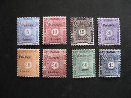 Cote Des Somalis: Série  Timbre-Taxe N° 21 Au N° 28, Neufs X. - Unused Stamps