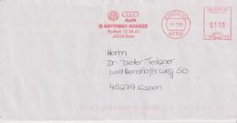 Absenderfreistempel - Essen, Gottfried Schultz Autohaus VW+Audi, 1999 - Briefe U. Dokumente