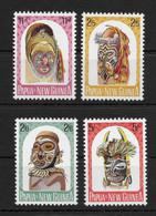 PAPUA NEW GUINEA * 1964 * Complete Set 4 Stamps * MNH** Native Artifacts - Mi.No 52-55 - Papua New Guinea