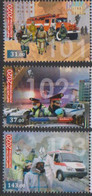 KYRGYZSTAN, 2020, MNH, COVID, FIRE ENGINES, POLICE, AMBULANCES,3v - Other