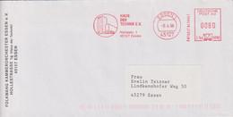 Absenderfreistempel - Essen, Haus Der Technik E.V., 1998 - Briefe U. Dokumente