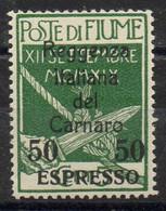 Fiume - Carnaro Michelnr. 19 Espresso - Fiume