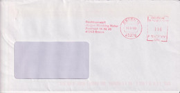 Absenderfreistempel - Essen, Rechtsanwalt/Notar Jürgen Mecking, 2000 - Briefe U. Dokumente