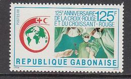 1988 Gabon Gabonaise Red Cross Health Doctors Complete Set Of 1 MNH - Gabon (1960-...)