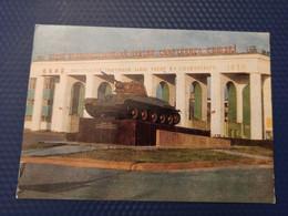 Russia. Volgograd. Tank T-34 Monument -  1982 - Guerra 1939-45
