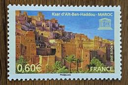 2007 France Timbre De Service - N°138 - Ksar D'Aît-Ben-Haddou - Maroc - Ungebraucht