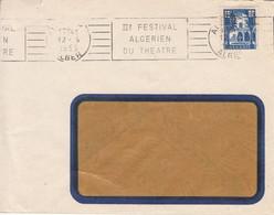 Algerie-Alger-2/5/1955-2ème Festival Algérien Du Théâtre - Covers & Documents
