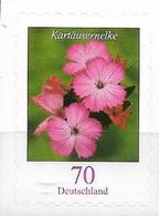 2009 Deutschland Germany Mi.  2716 **MNH  Blumen:  Kartäusernelke (Dianthus Carthusianorum) - Ungebraucht