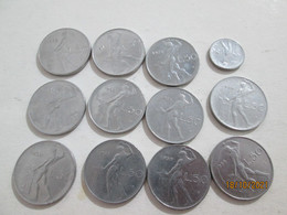 ITALY Lot Of Coins 50 Lire - 50 Lire