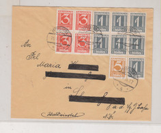 AUSTRIA 1934 EBERGASSING  Nice Cover - Covers & Documents