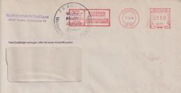 Absenderfreistempel - Essen, Essener Maitember, 1994 + Sonderstempel 75 Jahre Volkshochschule - Briefe U. Dokumente