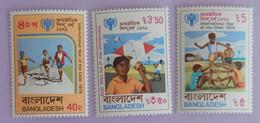 "BANGLADESH YT 135/137 NEUFS**MNH ""ANNEE INTERNATIONALE DE L ENFANT"" ANNÉE 1979 - Bangladesh"