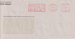 Absenderfreistempel - Essen, Stadt Essen - Die Einkaufsstadt, 1996 - Briefe U. Dokumente