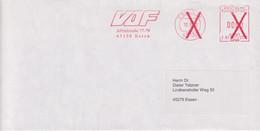 Absenderfreistempel - Essen, VDF (Verband Der Führungskräfte), 2000 - Briefe U. Dokumente