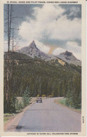 Yellowstone Park, Wyoming, USA, INDEX AND PILOT PEAKS,  Pic De Roche  Car, Auto , By Hayne Inc. 6A-H788 - Yellowstone