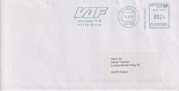 Absenderfreistempel - Essen, VDF (Verband Der Führungskräfte), 2001 - Briefe U. Dokumente