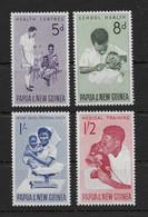 PAPUA NEW GUINEA * 1964 * Complete Set 4 Stamps * MNH** Health Services - Mi.No 58-61 - Papua New Guinea
