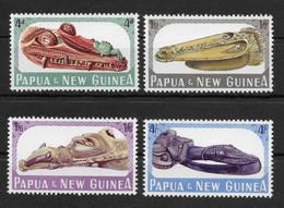 PAPUA NEW GUINEA * 1965 * Complete Set 4 Stamps * MNH** Canoe Prows - Mi.No 73-76 - Papua New Guinea