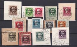 Bayern - 1919 - Michel Nr. 116/127 A - Gestempelt - 50 Euro - Bayern