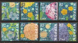 Japan Fleurs Flowers Obl - Used Stamps