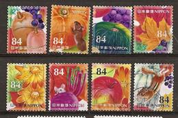 Japan Fruits Obl - Used Stamps