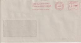 Absenderfreistempel - Frankfurt A.M., GZS Gesellschaft Für Zahlungssysteme MbH, 1995 - Briefe U. Dokumente