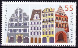 Timbre-poste Gommé Neuf**  Façades De Maisons De La Vieille Ville De Görlitz - N° 2183 (Yvert) - Allemagne Fédérale 2003 - Ungebraucht