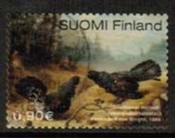 2003 Finland. Ferdinand Won Wright, Birds Painting. - Gebraucht