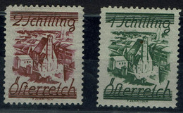 AUSTRIA  1925 STAMPS IN SCHILLING CURRENCY  MI No 466-7 MLH VF!! - Unused Stamps