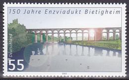 Timbre-poste Gommé Neuf** - Ponts 150 Ans Du Viaduc De Bietigheim Sur L'Enz - N° 2185 (Yvert) - Allemagne Fédérale 2003 - Ungebraucht