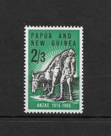 PAPUA NEW GUINEA * 1965 * Stamp * MNH** Gallipoli Landing - Mi.No 77 - Papua New Guinea