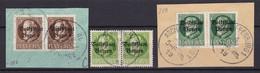 Bayern - 1919 - Michel Nr. 116/118 A Paar - Gestempelt - Bayern