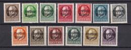Bayern - 1919 - Michel Nr. 152/164 A - Postfrisch - Bayern