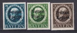 Bayern - 1919 - Michel Nr. 168/170 A - Ungebr. - Bayern