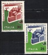 ITALIA - 1970 - ANNO EUROPEO PER LA SALVAGUARDIA DELLA NATURA - MNH - 1961-70: Ungebraucht