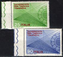 ITALIA - 1970 - COMPLETAMENTO DELLA RETE TELEFONICA TELESELETTIVA - MNH - 1961-70: Ungebraucht
