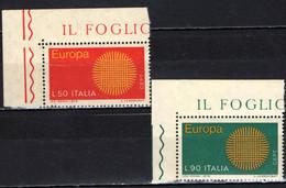 ITALIA - 1970 - EUROPA UNITA - MNH - 1961-70: Ungebraucht