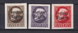 Bayern - 1920 - Michel Nr. 165/167 B - Ungebr. - Bayern